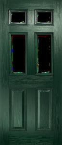 door_classical_half_glaze_green